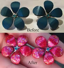 DIY Lacquered Jewelry from Urban Thrift caglary thrift store jewelry