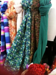 Knitted Scarves Photo: Urban Thrift